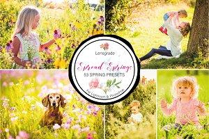 Spring Presets - Lightroom Presets