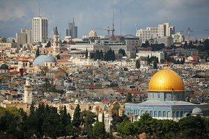 The panorama of Jerusalem