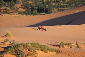 Reserve Coral sand dunes