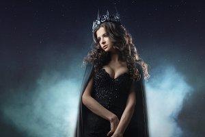 Portrait of a Gothic Princess. Gothi