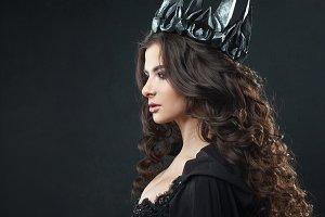 Portrait of a Gothic Princess.