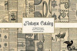 Antique Catalog Textures