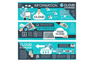 Cloud data storage and information technology
