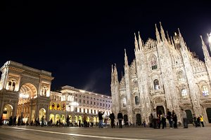 Historical architecture in Milan