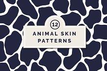 12 Animal Skin Patterns