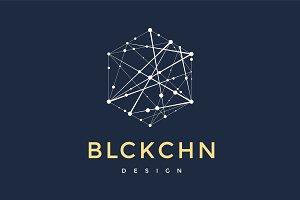 Logo for blockchain technology