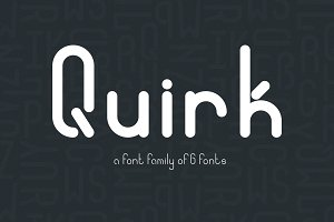 Quirk font family