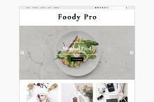 Foody Pro - WordPress Food Blogger by  in Blog