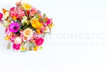 Styled Stock Photo - Colorful Flower