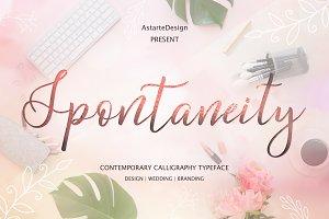 Spontaneity - script font
