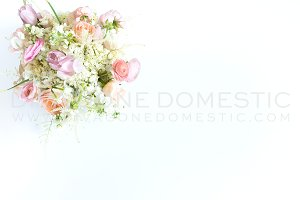 Styled Stock Photo - Blush Flowers