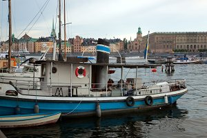 Stockholm - the capital of Sweden