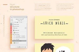 Erico Business Card Template