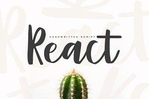 React script