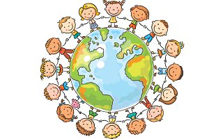 Children round the Globe