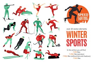 Winter Sports Set