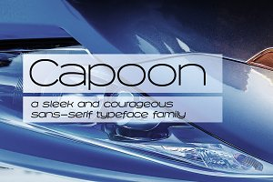 Capoon - Ten Fonts!