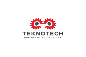 Tekno Tech Logo Template