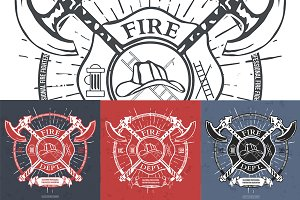 Fire Dept. Label