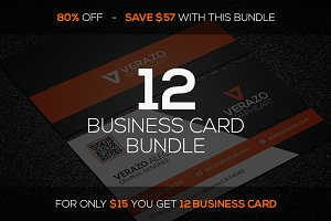 12 Business Card Mini Bundle