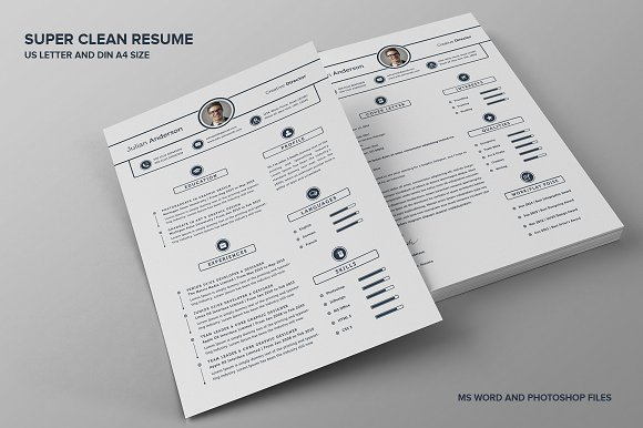 Example Functional Resume Super Clean Resumecv  With Ms Word  Resume Templates  Creative  Sample Nurse Resume Word with Accountant Assistant Resume Super Clean Resumecv  With Ms Word  Resumes Sample Software Engineer Resume Pdf