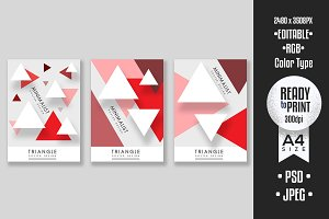 Triangle Poster Design