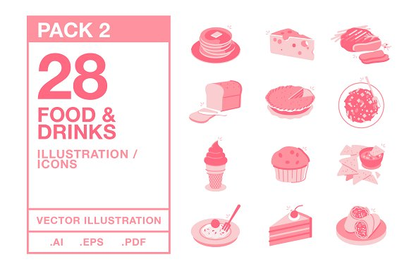 Food & Drinks Icons #2