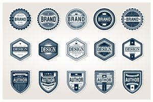 Awesome Badges Template