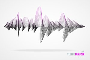 Vector equalizer musical bar