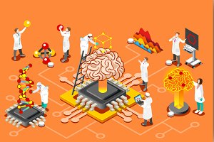 Artificial intelligence brain chip