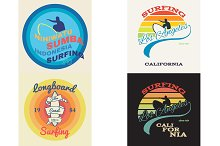 surf illustration, vectors, t-shirt