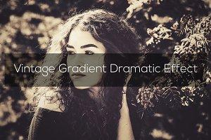 Vintage Gradient Dramatic Effect