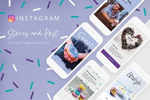 Sweet - social media templates