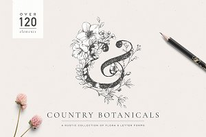 Country Botanicals & Monograms