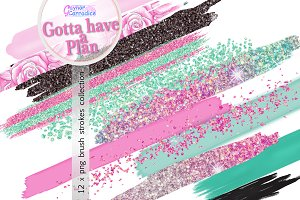 Gotta Have a Plan Brushes collection