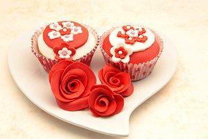 cupcake corazon