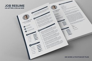 Job Resume CV - Anderson