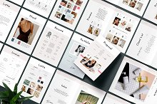 Lottie Pitch Pack by  in Brochures