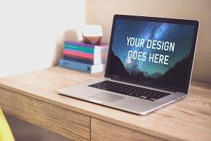 MacBook Mock-up #16