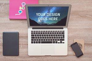 MacBook Mock-up #18