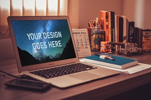 MacBook Mock-up #2