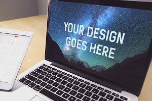 MacBook Mock-up #11