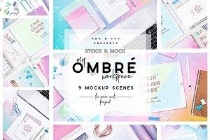 OMBRÉ Mockup | rainbow gradient