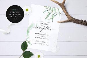Wedding Evening Invitation, Aurora