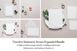 Travelers Stationery Mockup Bundle