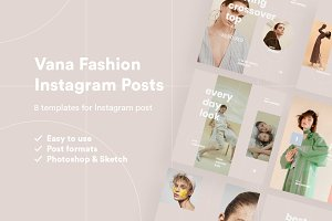 Vana Fashion Instagram Posts