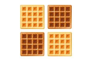 Belgian waffle.