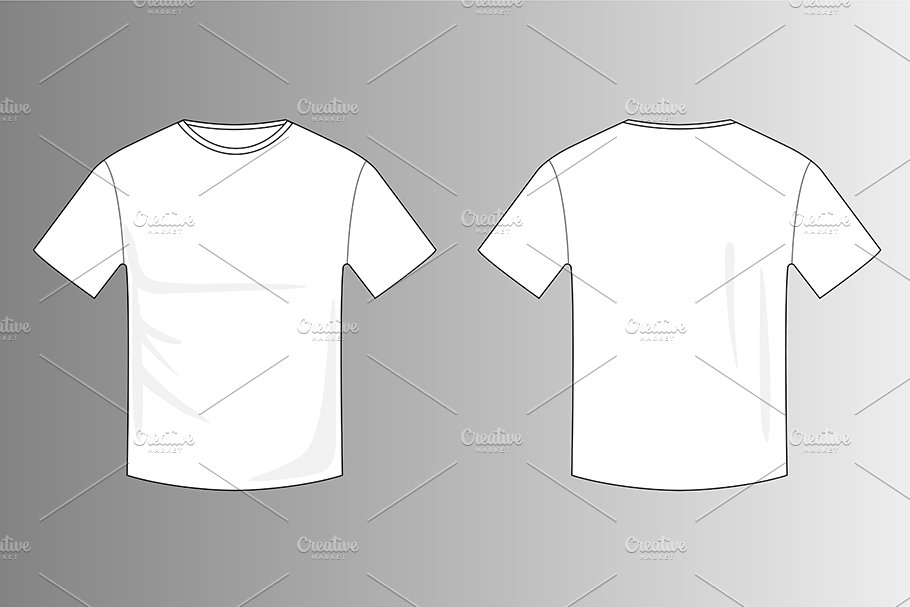 blank white t shirt template product mockups creative market