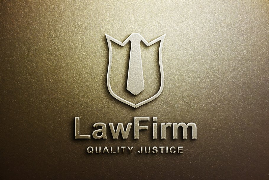Law Logo Template in Logo Templates - product preview 8