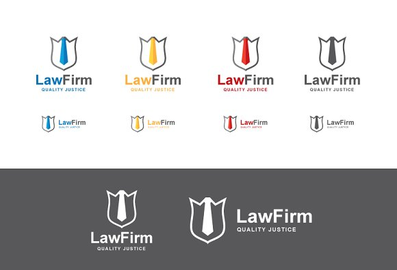 Law Logo Template in Logo Templates - product preview 1